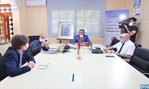 L'INCVT  en collaboration avec le  Ministère du Travail et de  l'Insertion Professionnelle a organisé le 28/05/2020 une visioconférence   sous le thèmes  lutte contre la propagation du COVID 19 sur les lieux du travail